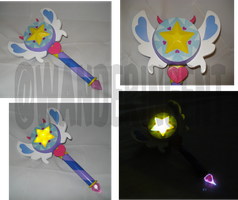 Star Wand Prop by wanderingent