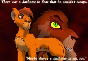 A darkness in me.... by KHwhitelion
