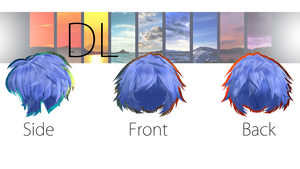 TDA Male Hair Edit [DOWNLOAD] Fixed DL by NEPHNASHINE-P