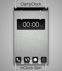 ClampClock - mClock Theme by chrisbanks2
