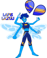 Fusion Comm- Lapis Lazuli by XombieJunky