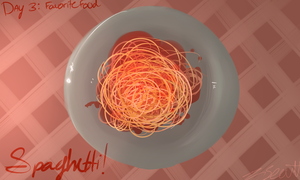 Day 3- Spaghetti by scoutface