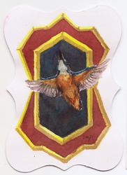 aceo kingfisher by kailavmp