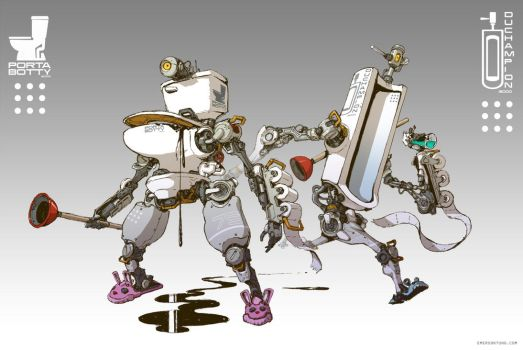 Toiletbots by emersontung