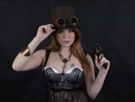 Steampunk Portrait Stock 22 Images by MelHeflin