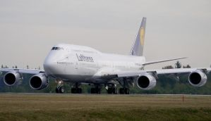 Boeing 747-8I Lufthansa by shelbs2