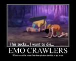 Emo crawlers... by ellahello