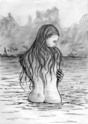Lady of the lake by skoppio