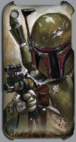 Boba Fett iPhone case by gattadonna