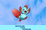 Muddles Loves Puddles - Poster by MeetYourReaper