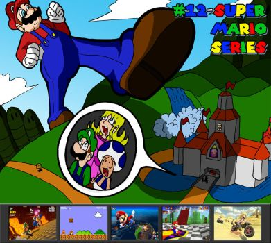 RM Jingle Jangle Countdown: Super Mario Series by Derede
