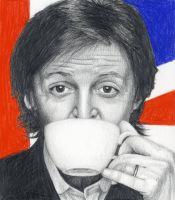 Paul McCartney by ShannonRudderArt