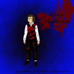 Finished commission: Alex Madness by AgentMaryland93