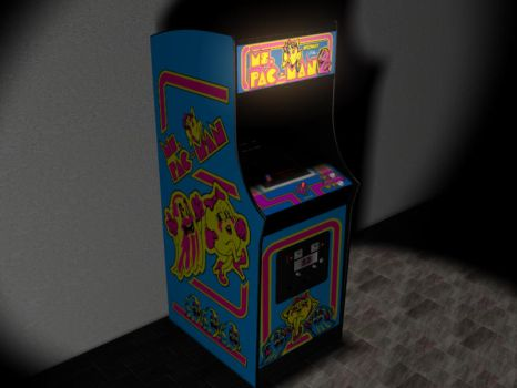 Ms. Pac-Man by dastone