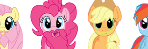 The Mane Tribute to Movember by DashieKitten