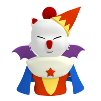 Moogle Timemage by SiverCat