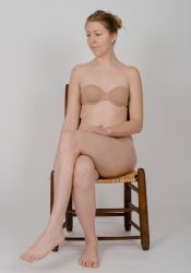 Body Reference - Sitting in Chair- Crossed Legs by Danika-Stock
