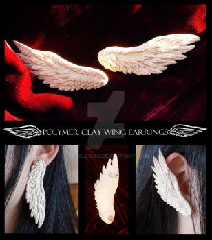 Wing Earrings by Sorelliena
