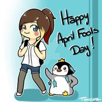 Happy April Fools Day !~ by Tsunesamaa