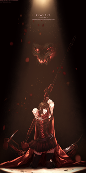 RWBY -Volume 4 poster by dishwasher1910