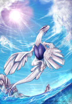 Lugia by Ink-Leviathan