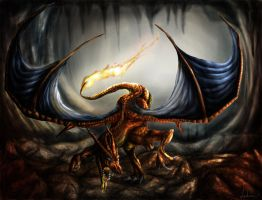 A wild Charizard appeared??? by Taluns