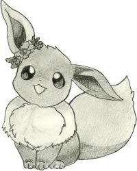 Eevee Sketch by crystia77