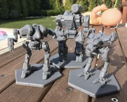 MWGoW 3d Printed Mechs 2 by MasakariPrime