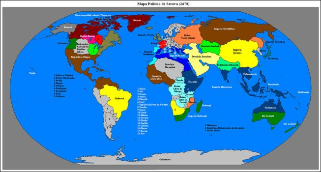 The Age of the Empires by Caessaes