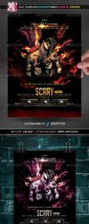 Scary Party Flyer by Minkki2fly