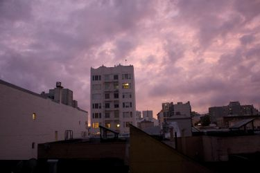 Angry San Francisco Sky by michiexile