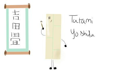Tatami's full name in Japanese by GumballWaterson1990