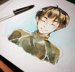 Yuri on Ice : Phichit by Panther-fam