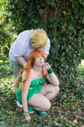 Izzy and Owen - Woop! by HarunyaanCosplay