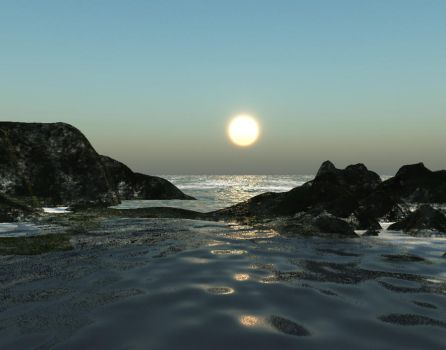 Tempestuous Sea by Silverwolf2006