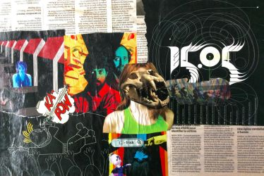 Art Project 3: Collage by colourbomb99