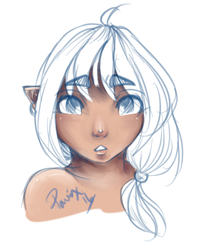 Lalafell WIP by Pavnix