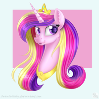 Cadence Portrait by SwanLullaby