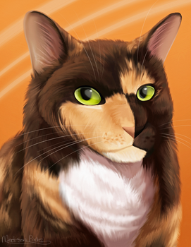 Pet Portrait Commission - Queen by Dreaming-Roses