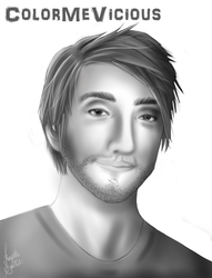 Gavin Free - Rooster teeth by ColorMeVicious