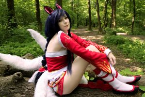 Ahri cosplay (League of Legends) by YashiroTeishi