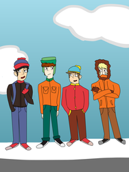 South Park by Peiixxes