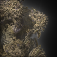 Edge of a Mandelbulb II by cab1n