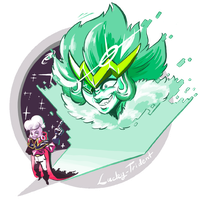 Lars VS Emerald by Lucky-Trident