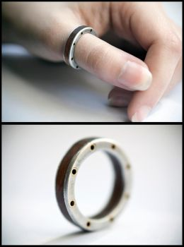 Steampunk Ring by back2root