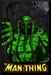 The Man-Thing by Lpsalsaman