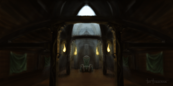 Nord Hall Interior by TheIllustrativeMan