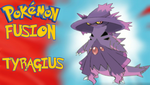 Pokemon Fusion Tyragius by TheHylianHaunter