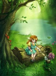 Hobbits in love by cynthi-dm