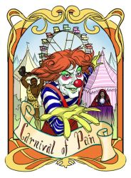 Carnival of Pain by Victoria-Poloniae